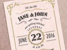 Wedding Invitation Template In English