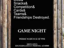 78 Online Game Night Party Invitation Template Formating for Game Night Party Invitation Template