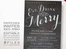 78 Report Christmas Party Invitation Template Editable For Free with Christmas Party Invitation Template Editable