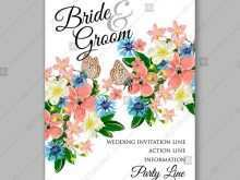 78 Standard Flower Invitation Template Vector Now with Flower Invitation Template Vector