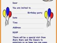 78 Visiting Birthday Invitation Letter Template Now by Birthday Invitation Letter Template