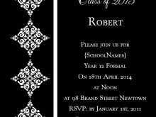 79 Blank School Formal Invitation Template Photo for School Formal Invitation Template