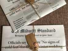 79 Blank Wedding Invitation Newspaper Template Download with Wedding Invitation Newspaper Template