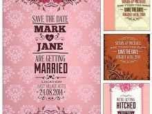 Wedding Invitation Designs Vector