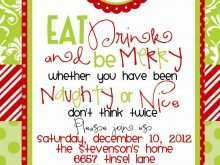 79 Free Christmas Party Invitation Template Formating for Christmas Party Invitation Template