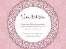Elegant Invitation Template Illustrator