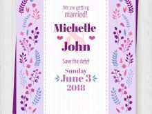 79 Printable Wedding Invitation Templates Violet in Photoshop with Wedding Invitation Templates Violet