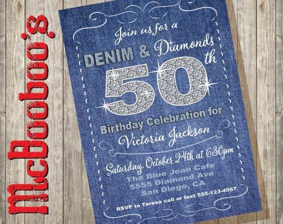 79 Report Denim Party Invitation Template Templates by Denim Party Invitation Template
