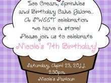 79 Standard Ice Cream Birthday Invitation Template Free for Ms Word with Ice Cream Birthday Invitation Template Free