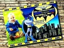 80 Customize Our Free Justice League Birthday Invitation Template Formating with Justice League Birthday Invitation Template