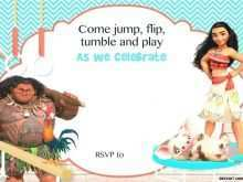 80 Online Baby Moana Birthday Invitation Template Templates with Baby Moana Birthday Invitation Template