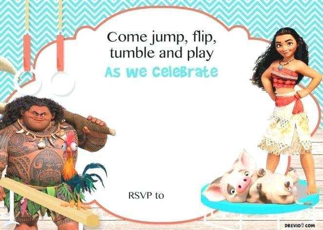 80 Online Baby Moana Birthday Invitation Template Templates with Baby Moana Birthday Invitation Template