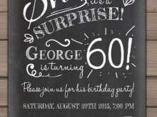80 Printable Chalkboard Birthday Invitation Template Free With Stunning Design by Chalkboard Birthday Invitation Template Free