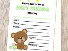 Fill In Blank Invitations