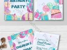 80 The Best Birthday Invitation Template Child PSD File with Birthday Invitation Template Child