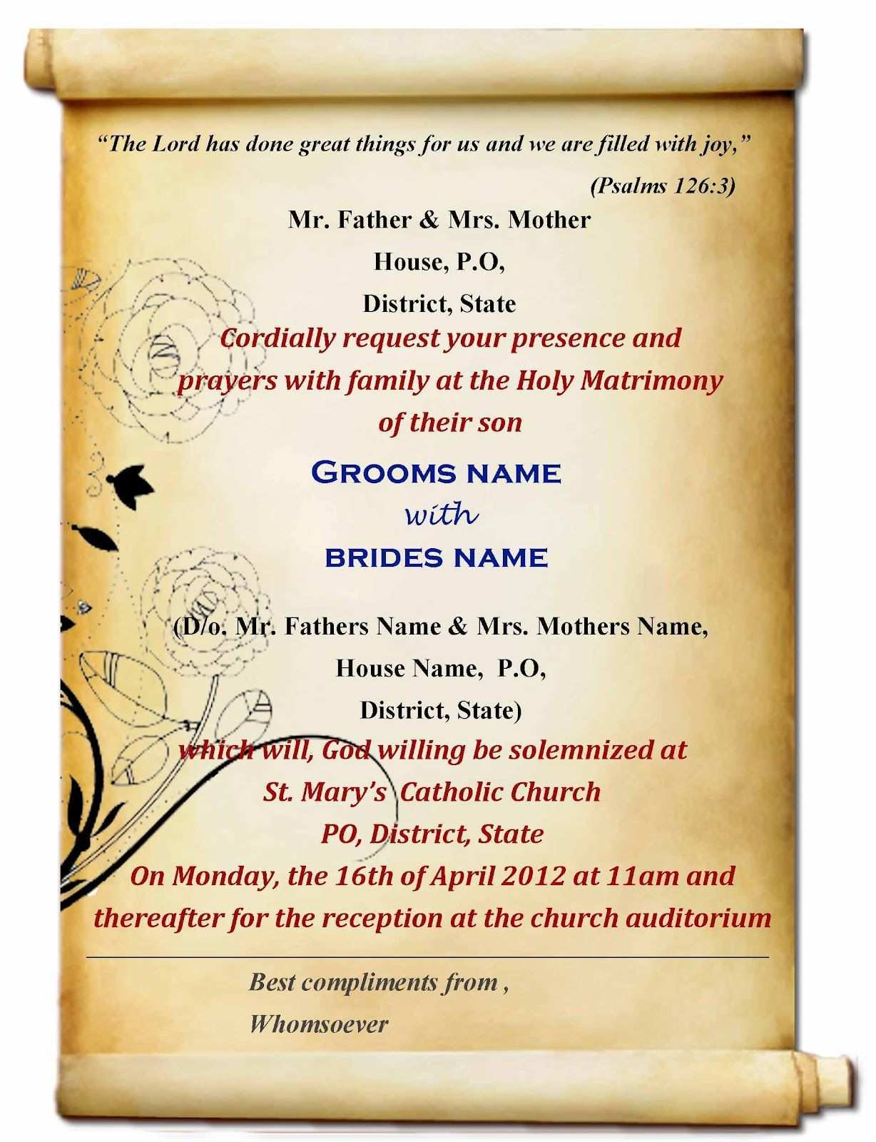 80 Visiting Invitation Card Name Format For Free for Invitation Card Name Format