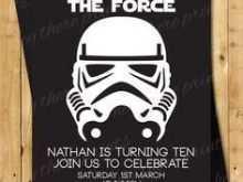 81 Adding Star Wars Birthday Invitation Template for Ms Word by Star Wars Birthday Invitation Template