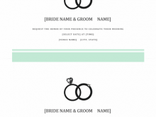 Wedding Invitation Template On Word