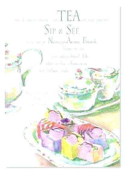 81 Printable Tea Party Invitation Template Word for Ms Word with Tea Party Invitation Template Word