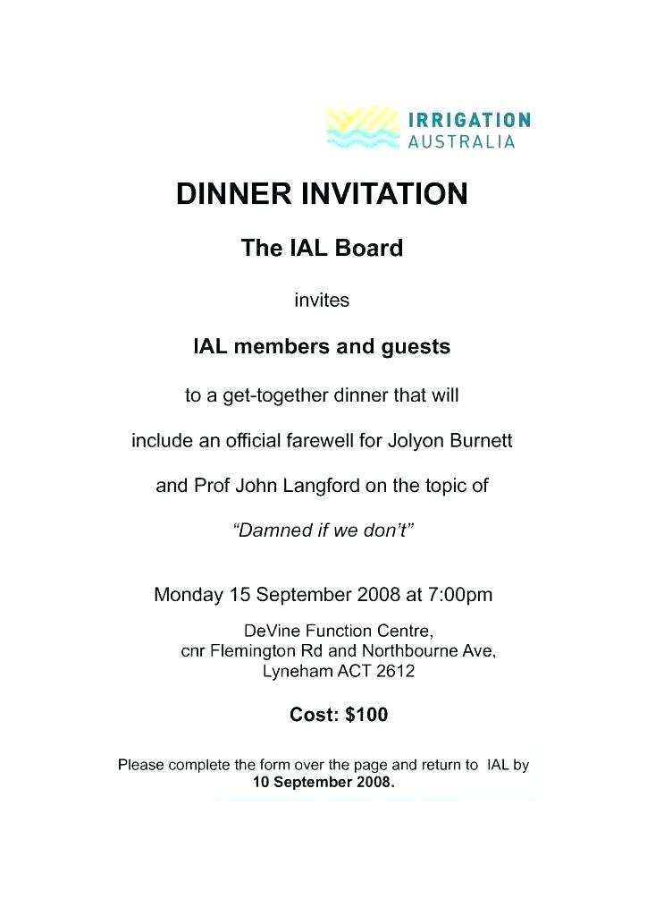 81 Standard Dinner Invitation Email Example for Ms Word with Dinner Invitation Email Example