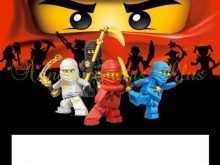 81 Standard Ninjago Party Invitation Template in Word with Ninjago Party Invitation Template
