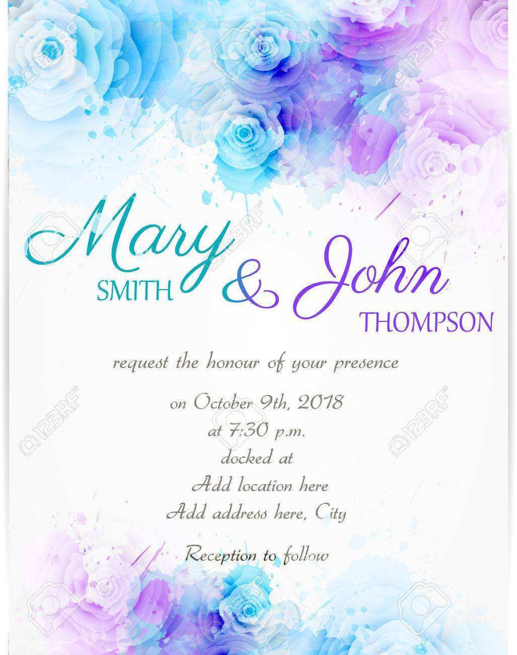 81 Visiting Wedding Invitation Template Background in Photoshop for Wedding Invitation Template Background