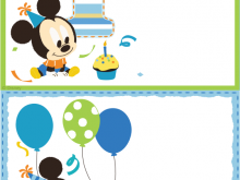 82 Best Mickey Mouse Blank Invitation Template For Free by Mickey Mouse Blank Invitation Template
