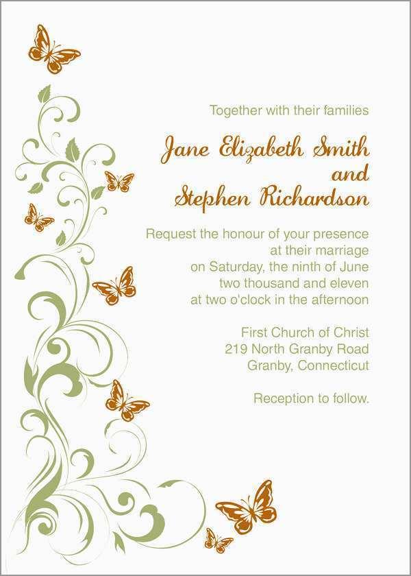 82 Blank Blank Wedding Invitation Templates For Microsoft Word For Free With Blank Wedding Invitation Templates For Microsoft Word Cards Design Templates