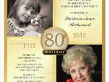82 Create 70 Year Old Birthday Invitation Template Layouts with 70 Year Old Birthday Invitation Template
