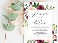 82 Creating Blush Pink Wedding Invitation Template in Photoshop with Blush Pink Wedding Invitation Template