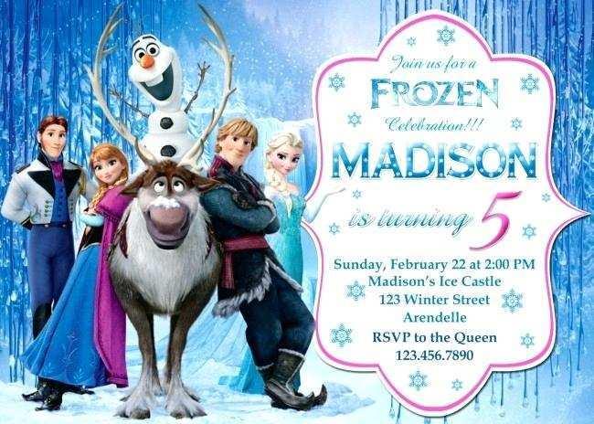 82 Creative Birthday Invitation Templates Elsa Now by Birthday Invitation Templates Elsa