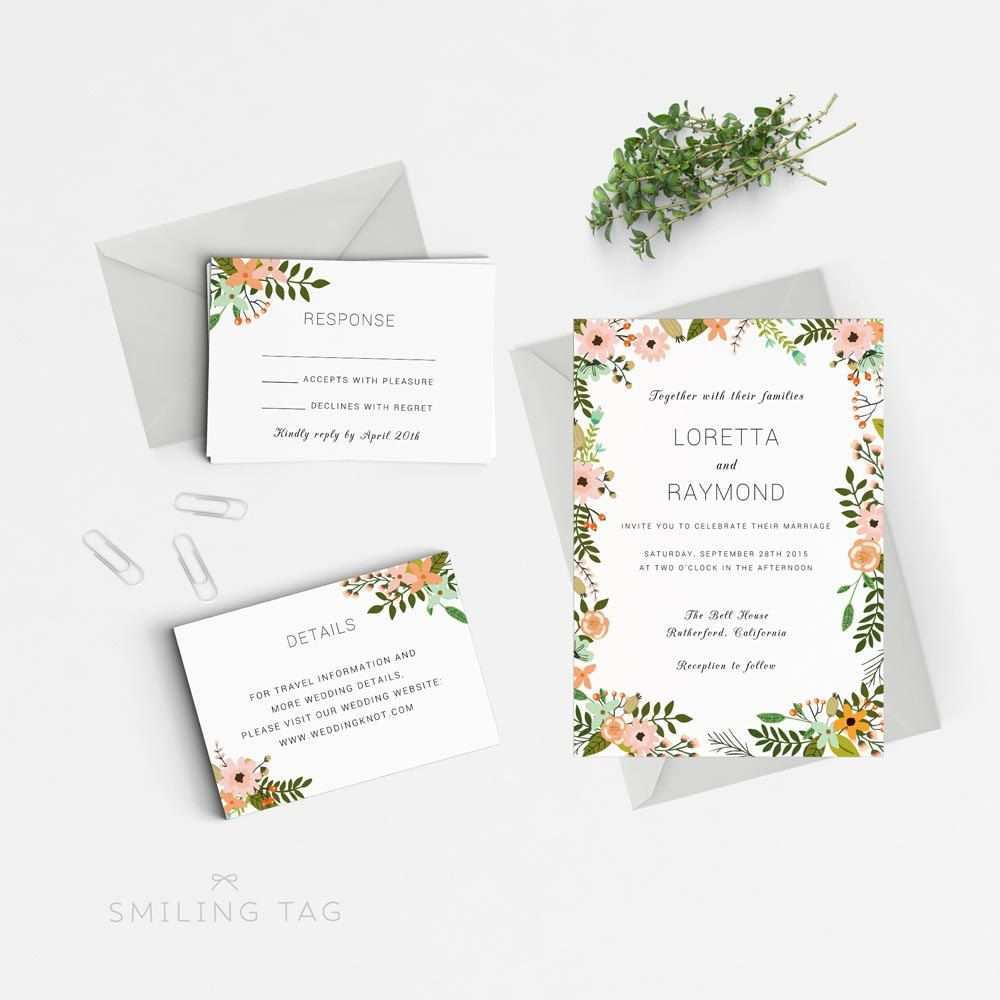 82 Customize Our Free Wedding Invitation Template Doc Now with Wedding Invitation Template Doc