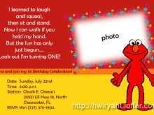 82 Printable Elmo Birthday Invitation Template Photo by Elmo Birthday Invitation Template