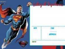 82 Printable Justice League Birthday Invitation Template Formating with Justice League Birthday Invitation Template