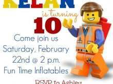82 Report Lego Party Invitation Template Free Layouts for Lego Party Invitation Template Free