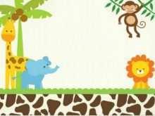 82 Report Safari Birthday Invitation Template Free in Photoshop for Safari Birthday Invitation Template Free