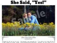 82 Report Wedding Invitation Newspaper Template Maker with Wedding Invitation Newspaper Template