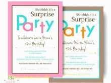 Under The Sea Birthday Invitation Template