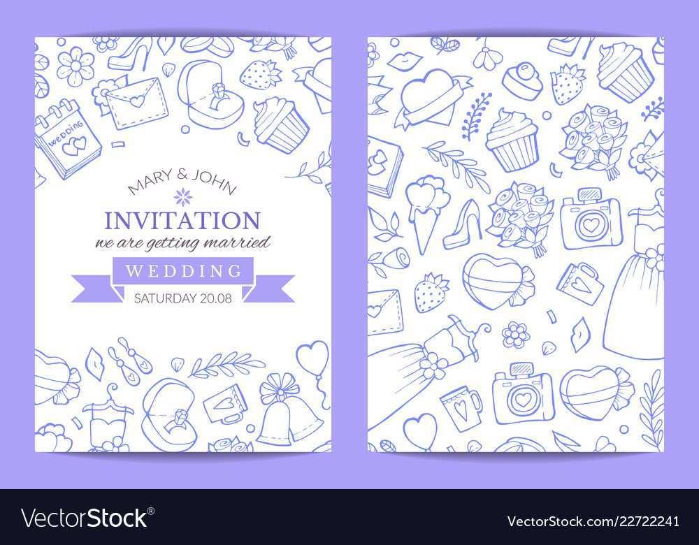 83 Customize Doodle Wedding Invitation Template Maker by Doodle Wedding Invitation Template