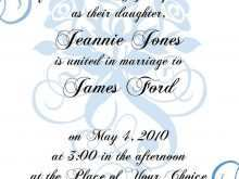 83 Free Printable Template For A Formal Invitation for Ms Word by Template For A Formal Invitation