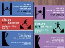 83 How To Create American Ninja Warrior Birthday Invitation Template in Word with American Ninja Warrior Birthday Invitation Template