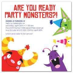 83 Printable Birthday Party Invitation Template Boy for Ms Word by Birthday Party Invitation Template Boy