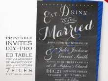 83 Printable Royal Blue Wedding Invitation Template PSD File for Royal Blue Wedding Invitation Template