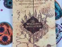 84 Adding Harry Potter Wedding Invitation Template PSD File with Harry Potter Wedding Invitation Template