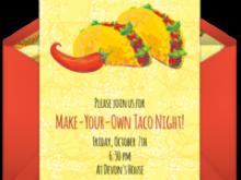 84 Blank Taco Party Invitation Template Free PSD File by Taco Party Invitation Template Free