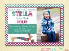 84 Create Birthday Invitation Templates For 2 Years Old Girl Photo with Birthday Invitation Templates For 2 Years Old Girl