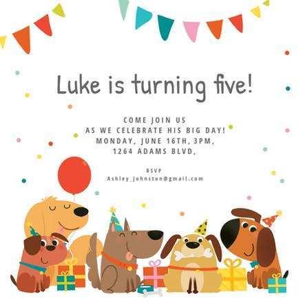 84 Format Kiddie Birthday Invitation Template With Stunning Design with Kiddie Birthday Invitation Template