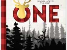 84 Free Lumberjack Birthday Invitation Template For Free by Lumberjack Birthday Invitation Template