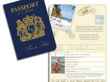 84 Free Printable Free Passport Wedding Invitation Template PSD File for Free Passport Wedding Invitation Template