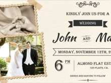 84 How To Create Wedding Invitation Template Doc Photo for Wedding Invitation Template Doc